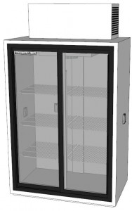 Powers Scientific CT52SD liquid chromatography refrigerator rendering
