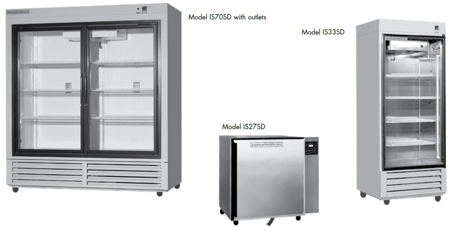 Powers Scientific IS27SD IS33SD IS70SD Refrigerated and BOD Incubators
