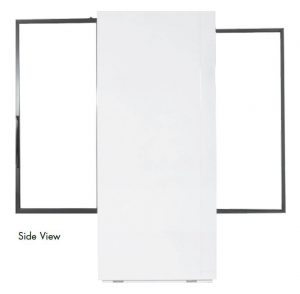 Powers Scientific PS79SDSD Pass-thru Lab Pharmacy Refrigerator Side View