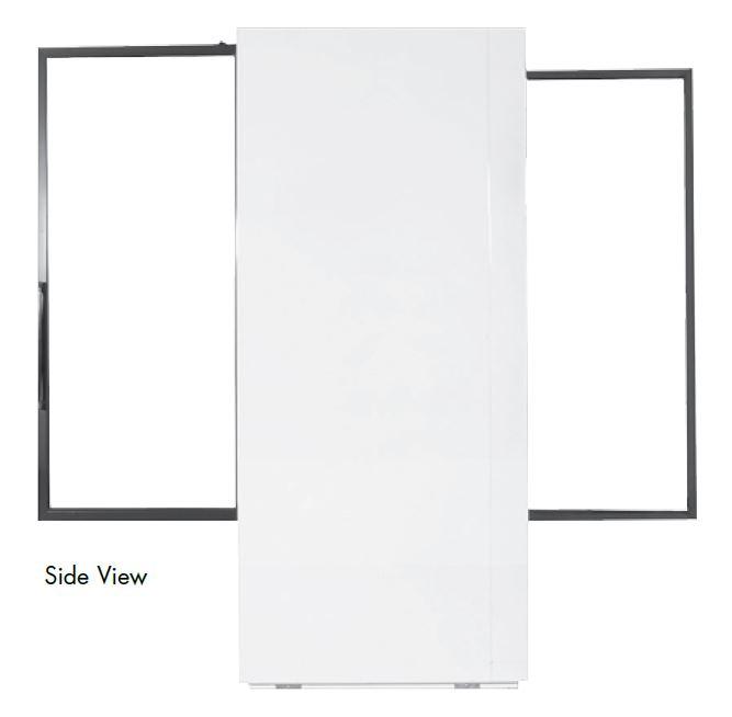 Powers Scientific PS79SDSD Pass-thru Lab Pharmacy Refrigerator Side View